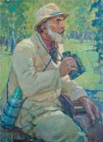 Портрет брянского писателя – натуралиста А.В. Федосова